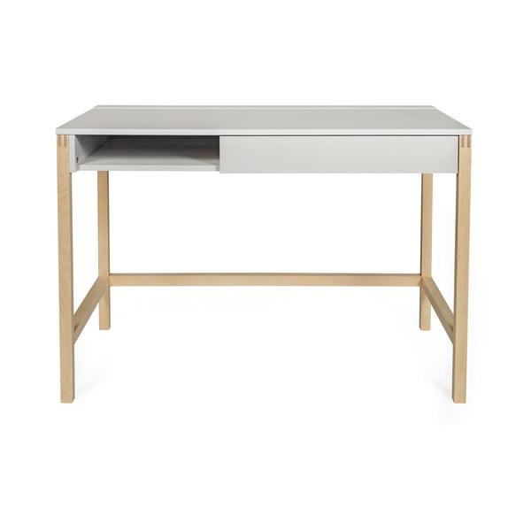 NorthGate íróasztal, szürke asztallappal - Woodman
