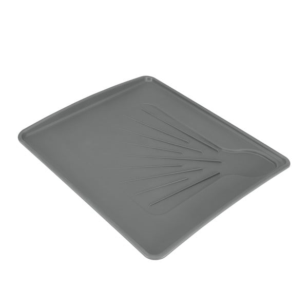 Odkapávací podložka na nádobí Metaltex Hydro, 35 x 31 cm
