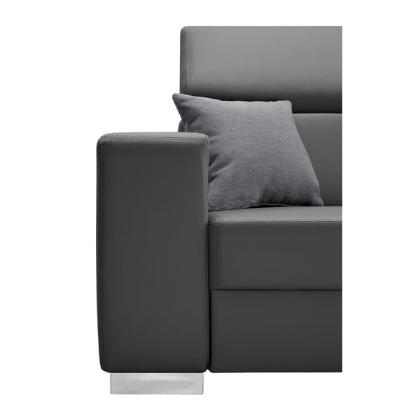 Canapea cu șezlong partea stângă Interieur De Famille Paris Tresor, gri deschis