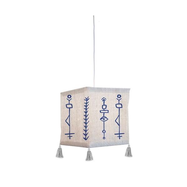 Textilní závěsné svítidlo Madre Selva Juno