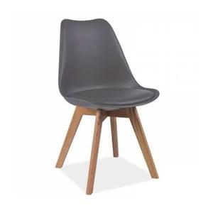Šedá židle Vivir Guay