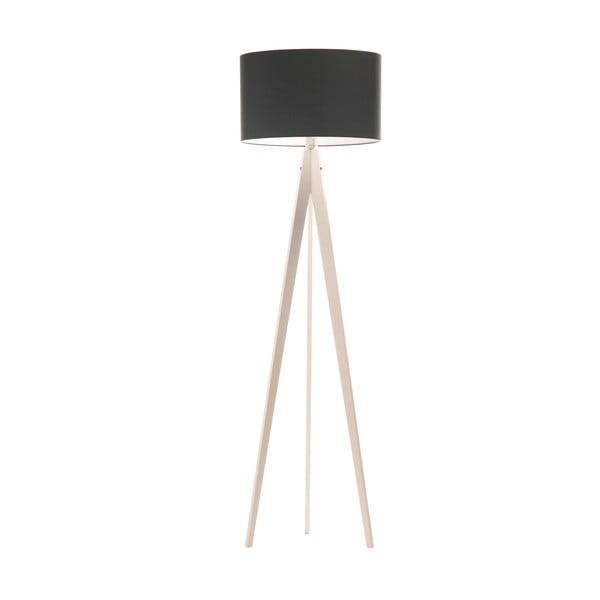 Stojací lampa Artist Poly Grey/White, 150x42 cm
