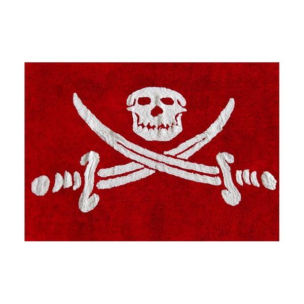 Koberec Pirata 160x120 cm, červený
