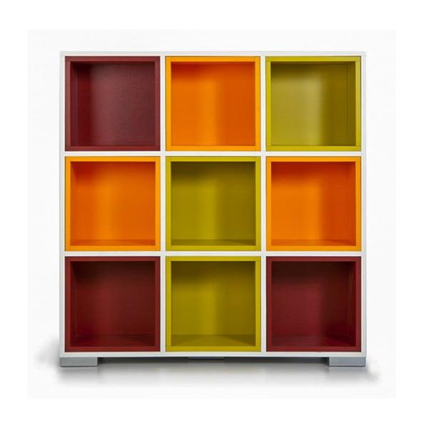 Knihovna Domino, barevné boxy