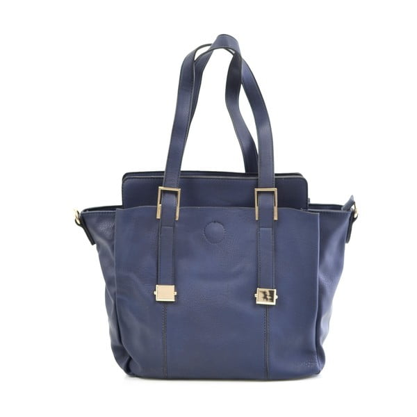 Kožená kabelka Giorgia, modrá
