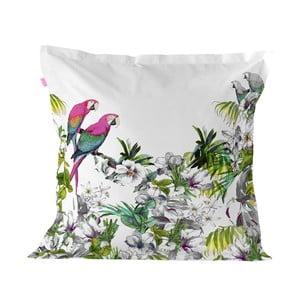 Bavlněný povlak na polštář Happy Friday Pillow Cover Blue Macaw,60x60cm