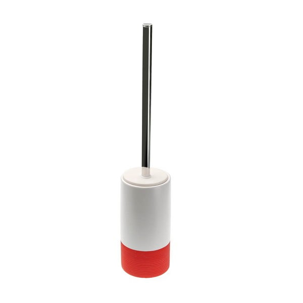 Perie WC Versa Hanz, înălțime 31 cm, roșu