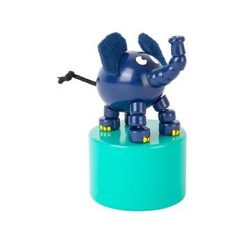Elefant din lemn cu suport Legler Die Maus de la Legler