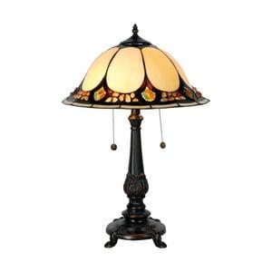 Tiffany stolní lampa Complete, 41 cm