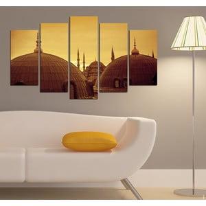 5dílný obraz Orient