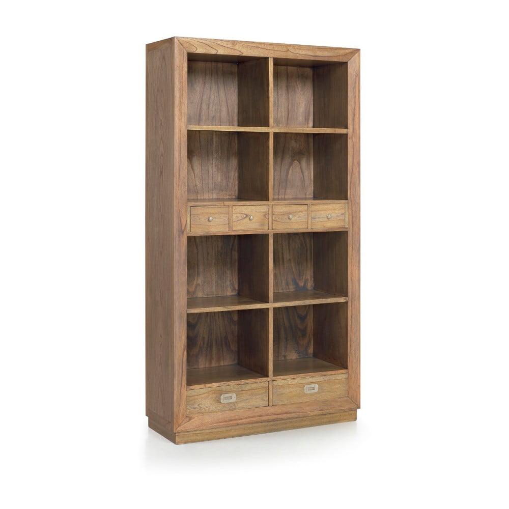 Knihovna ze dřeva mindi Moycor Merapi