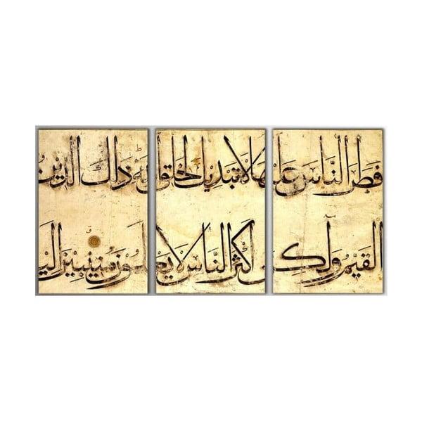 3dílný obraz Arabian, 45x90 cm