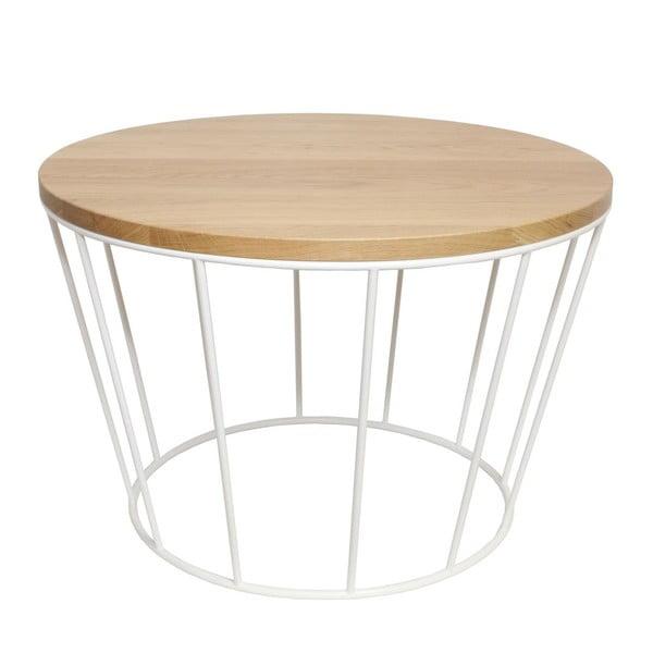 Odkládací stolek Basket White
