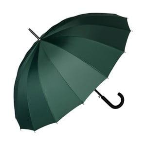 Tmavě zelený holový deštník Von Lilienfeld Devon