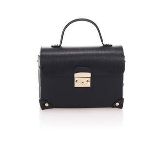 Černá kožená kabelka Lisa Minardi Kara