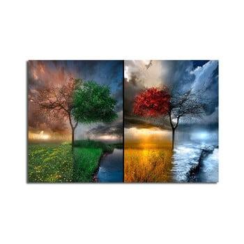 Tablou pe pânză Seasons, 70 x 45 cm