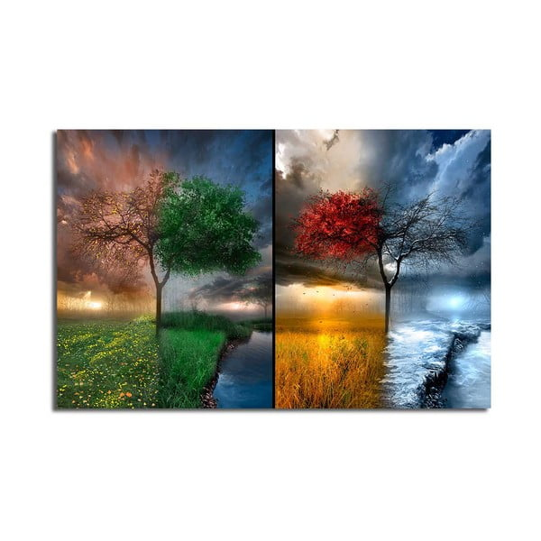 Obraz na plátně Seasons, 70x45cm