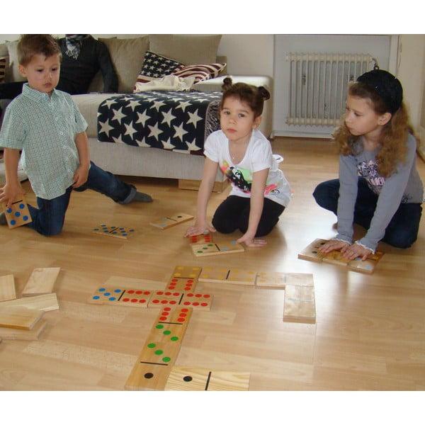 Zahradní hra pro celou rodinu Obří domino