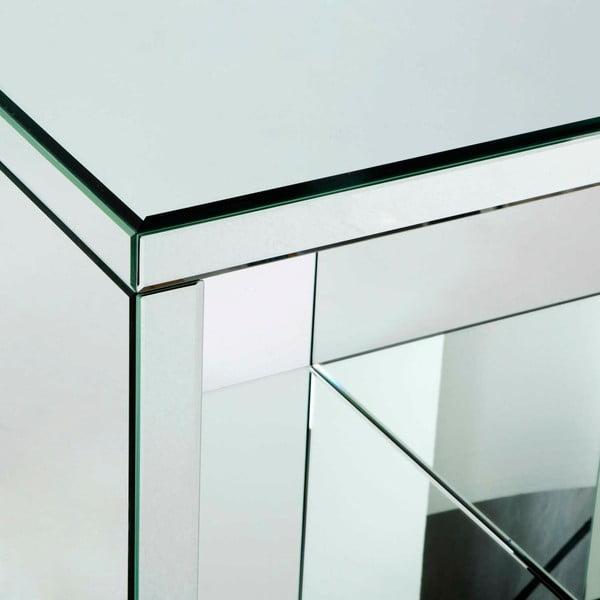 Zrcadlový odkládací stolek Thai Natura, délka55cm