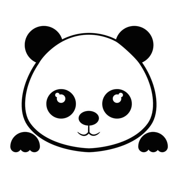 Samolepka Ambiance Panda Plug