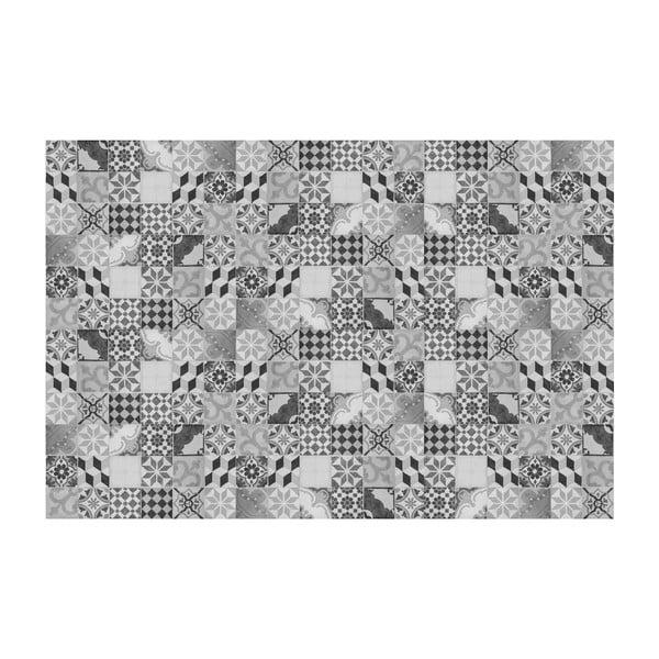 Vinylový koberec Mosaico Vintage Gris, 200x300 cm