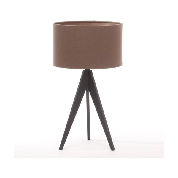 Stolní lampa Arist Dark Taupe/Black