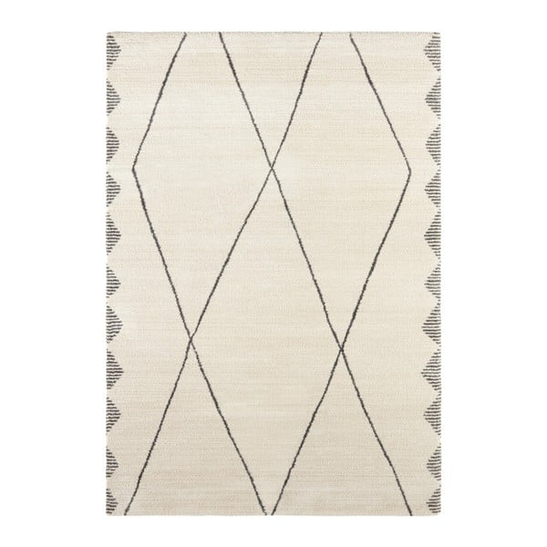 Krémovo-šedý koberec Elle Decor Glow Beaune, 160 x 230 cm