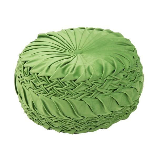 Queen zöld puff, ø 48 cm - Mauro Ferretti