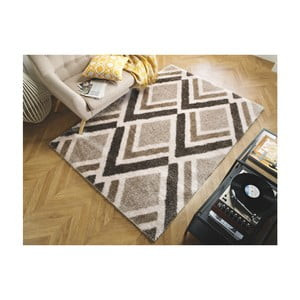 Koberec Flair Rugs Bijoux Beige Brown, 160 x 230 cm