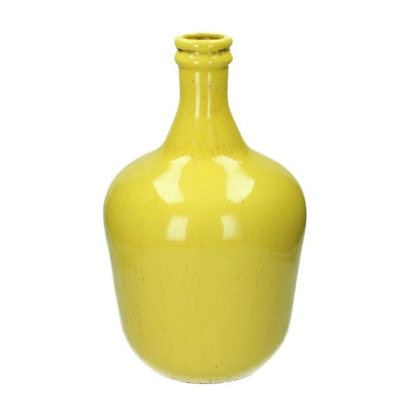 Váza Stoneware Yellow