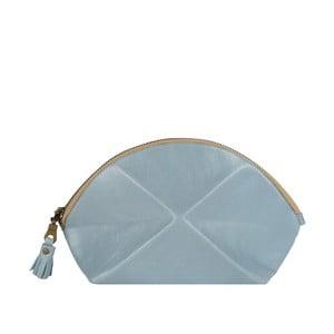 Psaníčko/kosmetická taška Pyramid, světle modrá