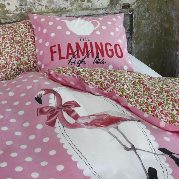 Povlečení Flamingo, 220x240 cm