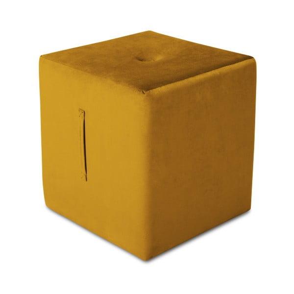 Pomarańczowy puf Mazzini Sofas Margaret, 40x45 cm