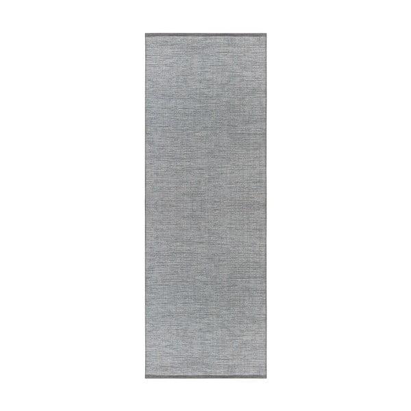 Modrý běhoun vhodný do exteriéru Elle Decor Curious Lens, 77 x 200 cm
