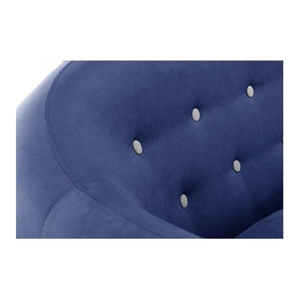 Canapea cu șezlong pe partea stângă Constellation, bleumarin