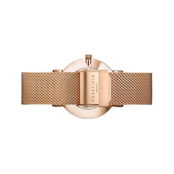Dámské hodinky s bílým ciferníkem RosefieldTheMercer