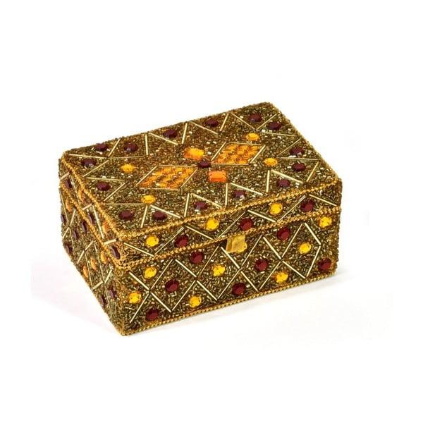 Bohatě zdobená šperkovnice Daman