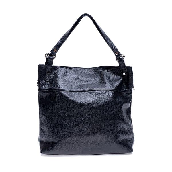 Černá kožená kabelka Roberta M Angelica