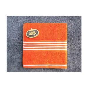 Ručník Rio Positive Orange/White Stripes, 30x50 cm