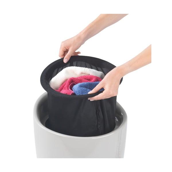 Béžový koš na prádlo a taburetka v jednom Wenko Candy