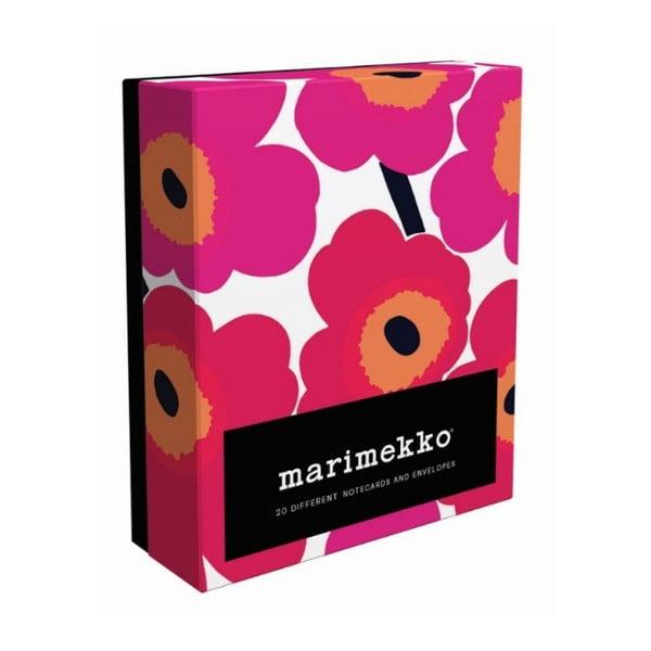 Sada přání a obálek Chronicle Books Marimekko Notes, 20ks