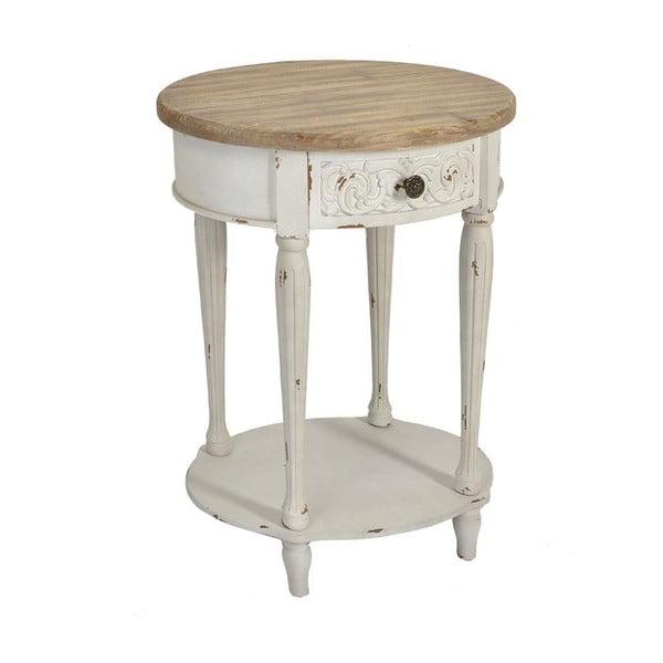 Dřevěný stolek Ameli, 56x40x72 cm