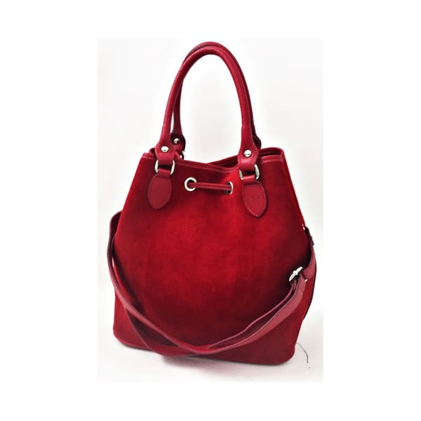 Kožená kabelka Sea Red