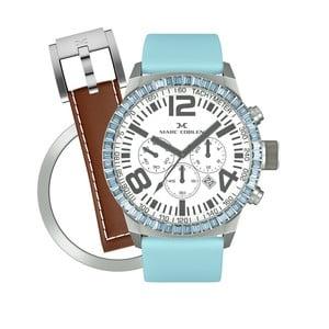 Dámské hodinky Marc Coblen s páskem a kroužkem navíc P79