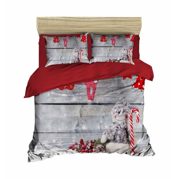 Kate karácsonyi, kétszemélyes ágyneműhuzat, 200 x 220 cm