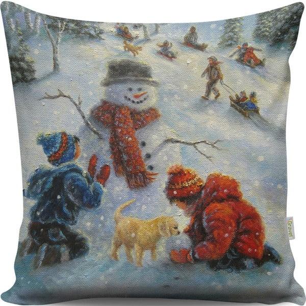 Pernă Vintage Christmas, 43x43 cm