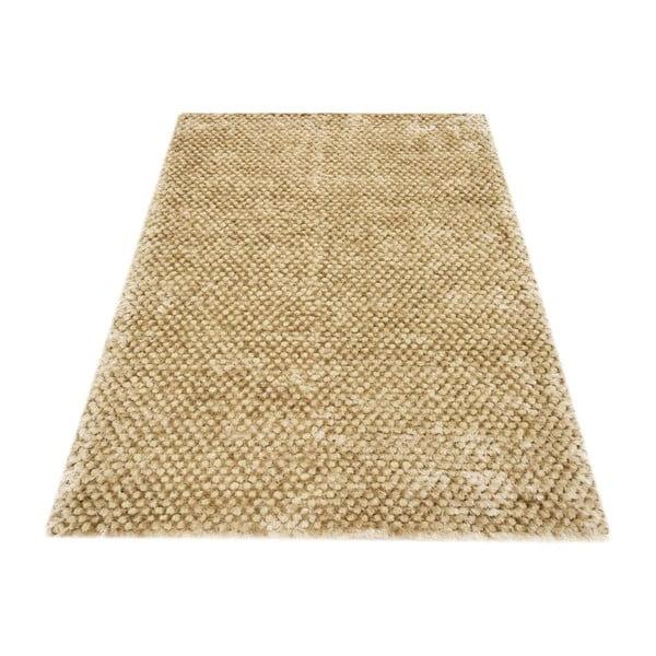 Ručně tkaný koberec Bakero Dessert Champagne, 160x230cm