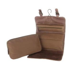 Kožená toaletní taška Grasmere Earth