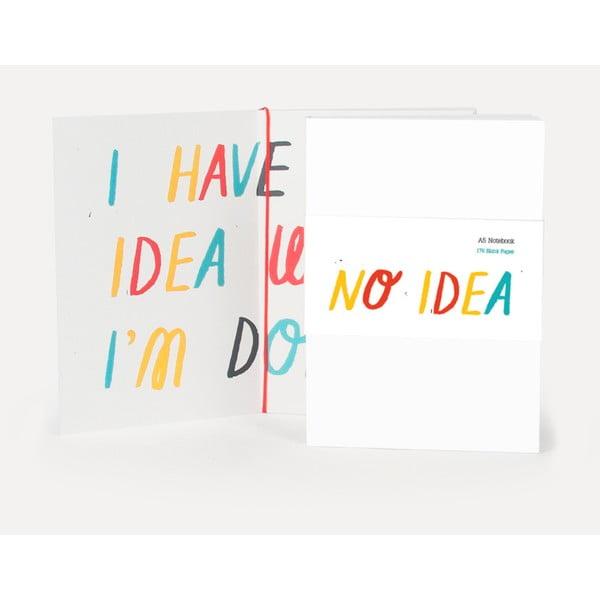 Zeszyt U Studio Design No Idea, 12x17 cm