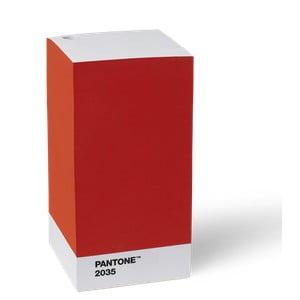 Červený stojan na tužku / poznámkový blok LEGO® Pantone